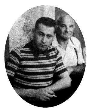 Federico Mausner e Alessandro Hoffmann internati a Campagna, 1940