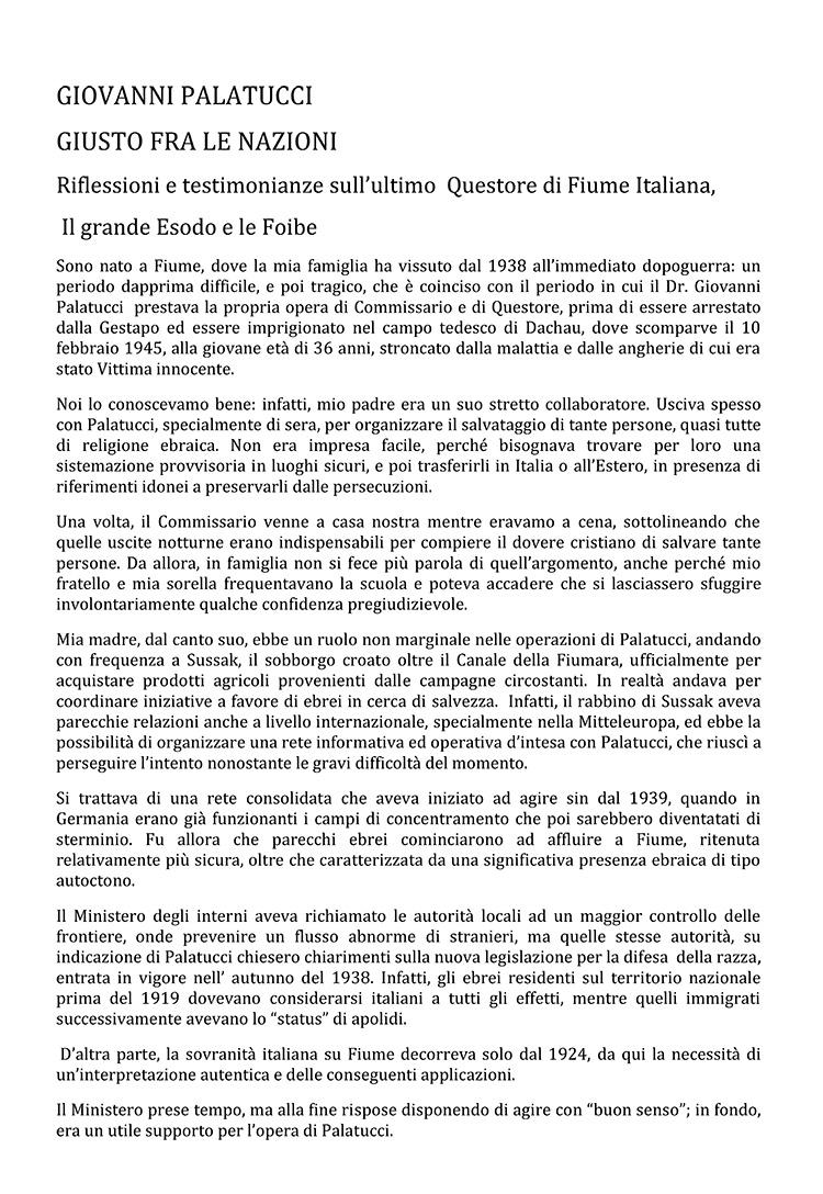 Testimonianza Franco Avallone