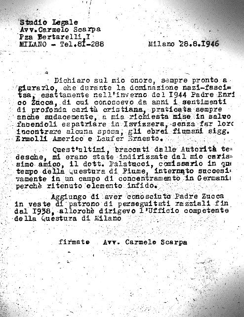 Documento Scarpa